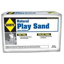 Sakrete 50 Lb Play Sand 40100301 The Home Depot Nature Play Concrete Mixes Sand