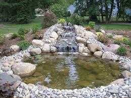 pond waterfalls ideas small waterfall garden