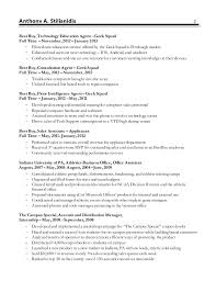 Outstanding Geek Squad Resume Example 53 For Cover Letter For Resume with Geek  Squad Resume Example
