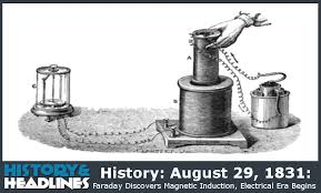 electric motor michael faraday. History: August 29, 1831: Faraday Discovers Magnetic Induction, Electrical Era Begins Electric Motor Michael
