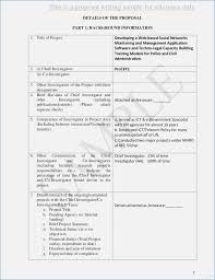 Policy Proposal Template Custom Development Project Proposal Template Henrycmartin