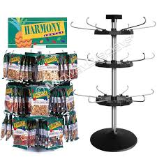 counter spinner stand great candy snack rack