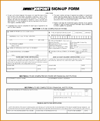 Social Security Direct Deposit Form Extraordinary Sample Social Security Direct Deposit Form Free Documents In Pdf New