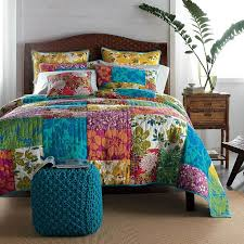 98 best Floral Finds images on Pinterest | Bed sets, Bedroom ideas ... & Rio Quilt - The liveliest way to wake up your bed for the summer months!  Love the colors Adamdwight.com