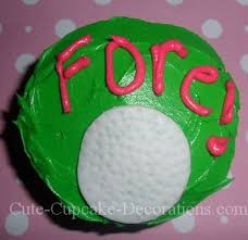 Golf Ball Decorations Cool Golf Cupcakes for Golf Lovers 85