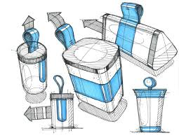 industrial design sketches.  Design Sketches By Quinn Huffstetler Via Behance Product Design  With Industrial G