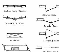 floor plan symbols. Po 3 Of 4 Floor Plan Symbols Pdf Architectural Drawing Free