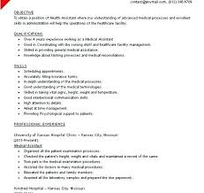Resumes For Medical Assistants With No Experience Resume For Dummies