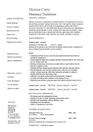 Pharmacy Technician Resume Examples Mesmerizing Resume Examples For Technicians Resume Sample For Pharmacy