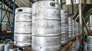 how many beers are in a keg paste