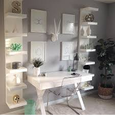 decorate small office work home. home decor inspiration on instagram u201cwhat great space to be productive thanks for modern office spacesmodern officeswork spacessmall decorate small work