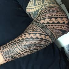 Hawaiian Tribal Tattoo Sleeves Wallpaper Tattoos Design Wallpaper