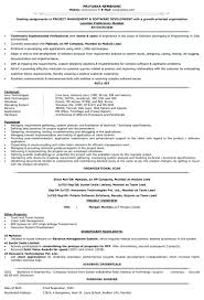 Sample Resume Software Developer Engineer Experienced Senior Of An