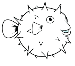 Fish Drawing Template Free Download Best Fish Drawing