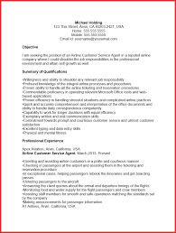 Airport Ramp Agent Resume Examples Airline Customer Service New Free