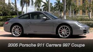 2005 Porsche 911 Carrera 997 Seal Grey Metallic Gulfstream ...