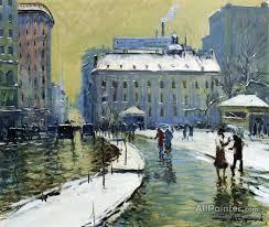 arthur clifton goodwin paintings for winter boston