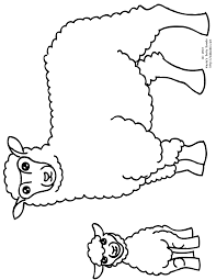 Small Picture Baby Lamb Coloring Pages Coloring Pages