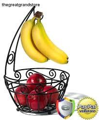 banana rack metal banana holder black scroll fruit tree spectrum holder storage counter basket banana rack banana rack fruit