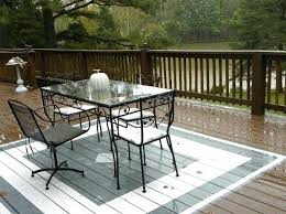 outdoor rug on wood deck deck paint ideas painted rug white gray how to paint wood outdoor rug on wood deck