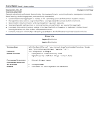 Below, you can select one of our cv templates for teachers. Elementary Teacher Resume Example Template For 2021 Zipjob
