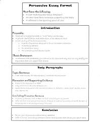 Essay Formats 2 Format For Essays Cover Letter Format Expository