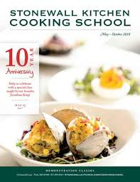 stonewall kitchen cooking may â x20ac x201c october 2018
