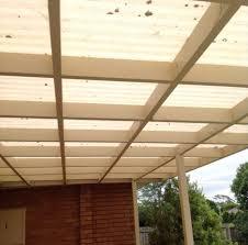 polycarbonate pergola roof before reroof reservoir image