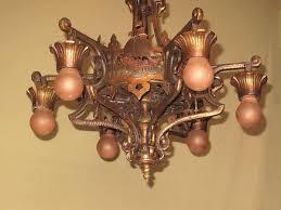 spanish revival lighting. Item Code: CEI20141207001 Price: $2,400.00. Year : 1920-1930 Spanish Revival Lighting D