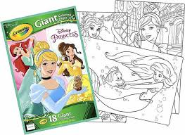 Crayola Disney Princess Giant Coloring Pages Price In Saudi Arabia