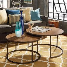 coffee table charming round nesting coffee table low coffee table with wooden table and