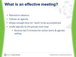 Quality Improvement Teams: The Magic Of Effective Meetings Quality ...