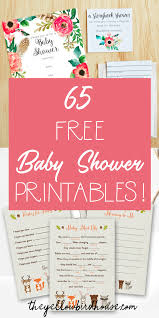 Free Baby Shower Invitations Printable 65 Free Baby Shower Printables For An Adorable Party