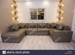 Show Living Room Designs Living Room Lounge Sofa In Luxury Apartment Show Home