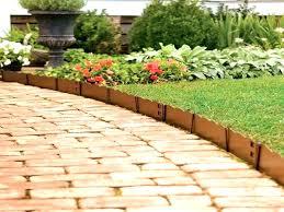 wooden garden borders brick border edging brick garden edging ideas red brick walk path with wooden garden borders