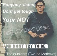 Ponyboy Quotes Gorgeous 48 Bit Quotes 48 QuotePrism