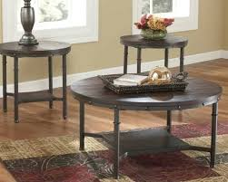 ashley furniture coffee table rustic round coffee table set round coffee tables living room coffee table
