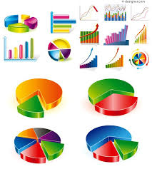 3d Chart Vector 4 Designer Exquisite 3d Chart Icon Vector Material