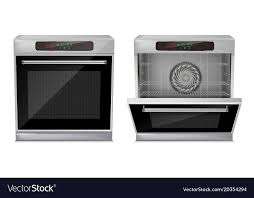 Small built in oven Smeg 3d Realistic Compact Builtin Oven Vector Image Vectorstock 3d Realistic Compact Builtin Oven Royalty Free Vector Image
