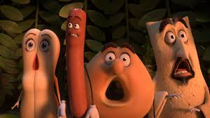 Review SAUSAGE PARTY brings new meaning to the term Food Porn.
