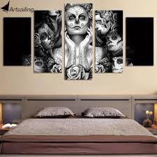 Skull Wallpaper For Bedroom Skull Wall Decor Reviews Online Shopping Skull Wall Decor