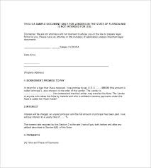 11 Mortgage Promissory Note Google Docs Ms Word Apple Pages