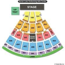 Darien Lake Performing Arts Center Seating Chart Timeless Darien Lake Performing Arts Seating Chart Darien