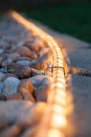 lighting pic. 3 borderline genius ways to use rope light in your backyard lighting pic