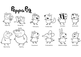 Small Picture Juegos Para Pintar A Peppa Pig Good Peppa Pig En Espaol El