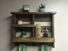 towel rack with hooks. Bathroom Shelf,Rustic Bath Towel Rack, Metal Hooks,Bathroom Organizer,Rustic Wooden Decor, Shelf Rack With Hooks