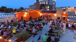 denizens brewing company a spacious brewery beer garden serves sharable dishes with their