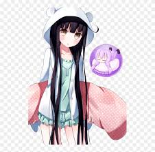 Girl Transparent Png Anime Girl Kawaii Hoodie Free Transparent Png Clipart Images Download