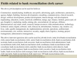 Bank Reconciliation Resume Sample Bank Reconciliation Accountant Resume
