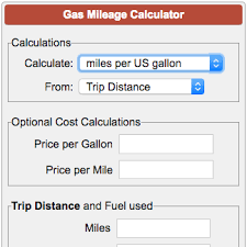 How To Figure Out Gas Mileage Gas Mileage Calculator